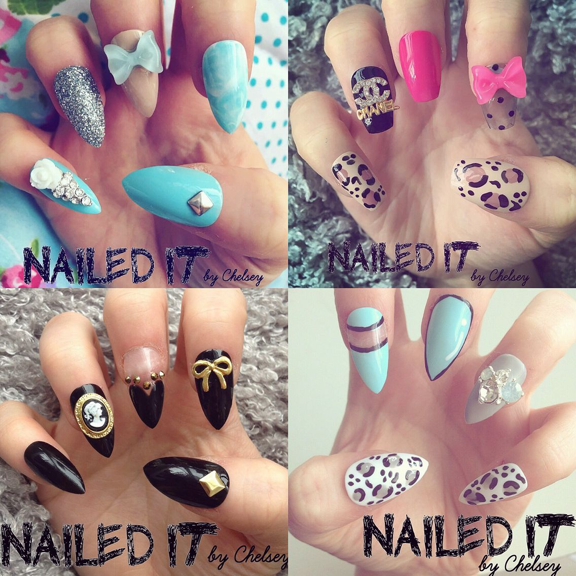 Collection Of My Nail Art Designs Shop Etsyukshop