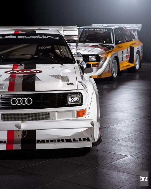 Audi S1 Sport Quattro Rallycar