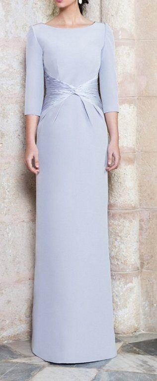 Vestidos largos para mujeres maduras
