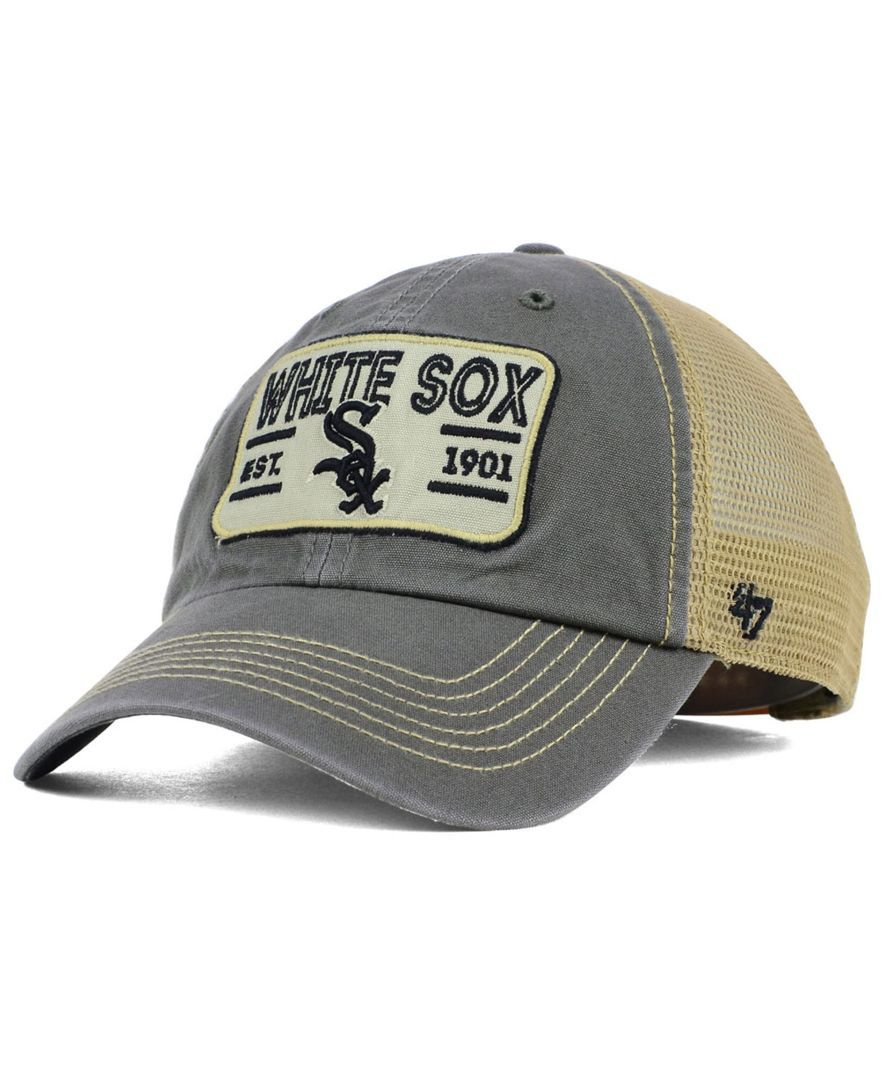c6e228445 47 Brand Chicago White Sox Goin Yard Mesh Cap | Products | Mesh cap ...
