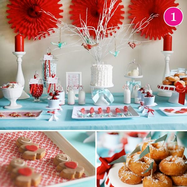 Ordinary Baby Christmas Party Ideas Part - 11: {Party Of 5} Christmas, Butterfly, Safari Baby, Woodland, U0026 Housewife