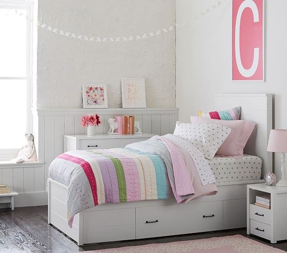 Grayson Storage Bed دكور Bed Storage Bedroom Bedroom Decor