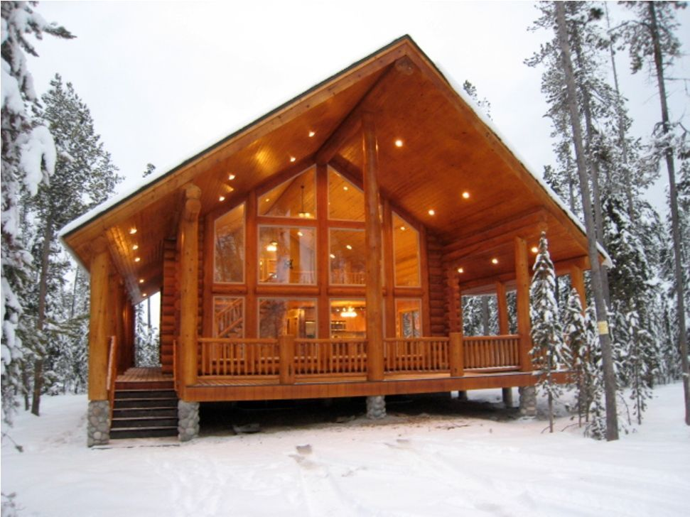 5 Celebrities Awesome Cabin In The Woods | Cabin style homes ...