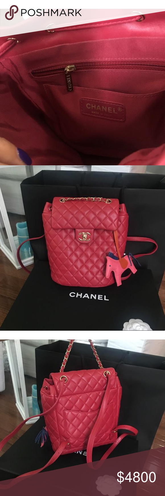 74293f3d79fd Chanel quilted Lambskin Urban spirit backpack Sold out everywhere. CHANEL  Lambskin Quilted Small Urban Spirit