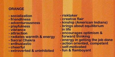 orange color meanings and symbolism | art therapy | Color
