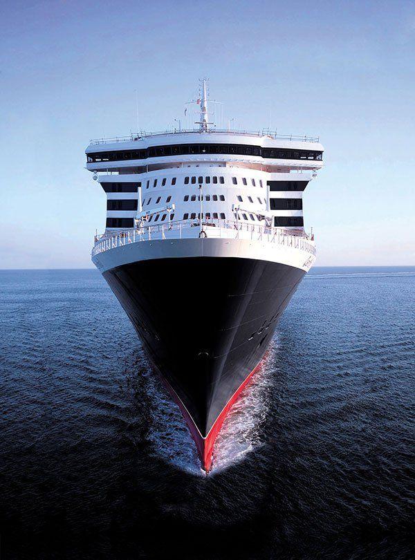 El Transatlántico Queen Mary 2 Kreuzfahrt Schiffsreise Kreuzfahrtschiff