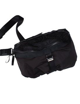 ee93e2993f The Lululemon Women's Go Lightly Classic Gym Yoga Travel Purse Black  Polyester Cross Body Bag is a top 10 member favorite on Tradesy.