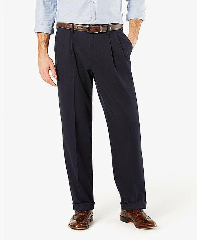 Dockers Mens Relaxed Fit Comfort Khaki Pants D4