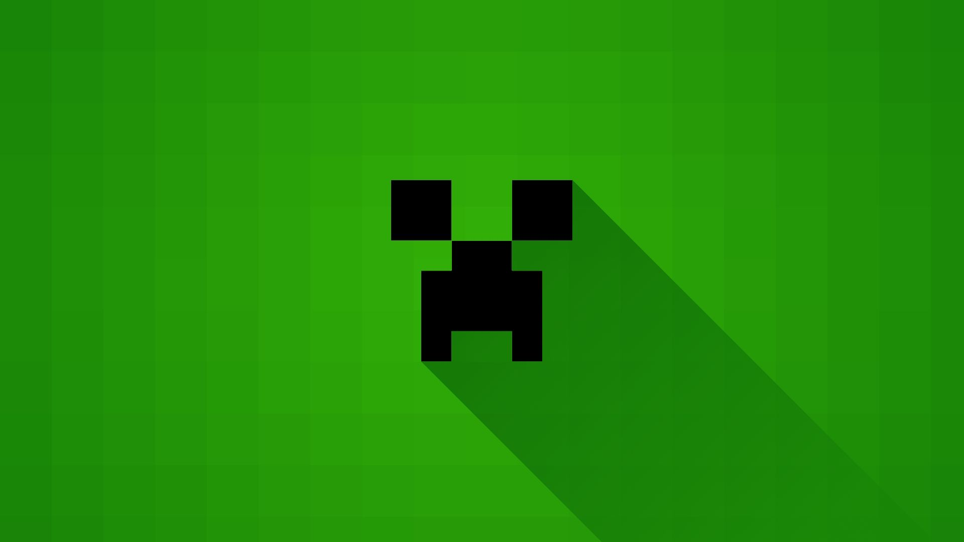 Minecraft Block Wallpaper 1920×1080 Creeper Wallpaper (46