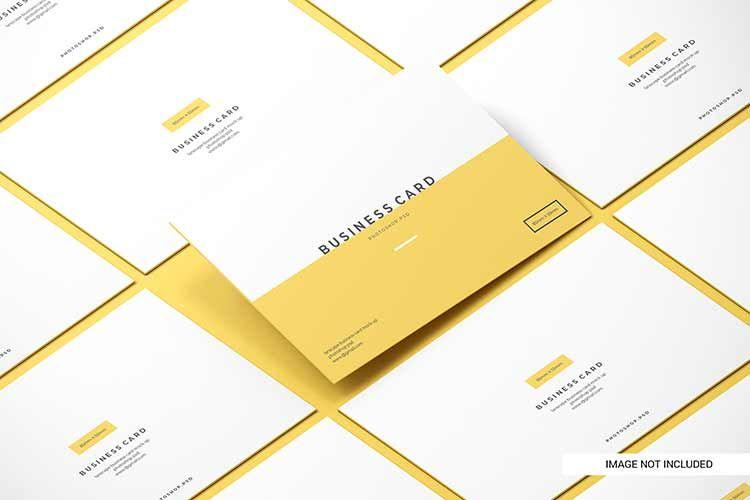 موك اب عرض كارت شخصي مكتبة الفوتوشوب In 2020 Business Cards Mockup Psd Business Card Mock Up Premium Business Cards