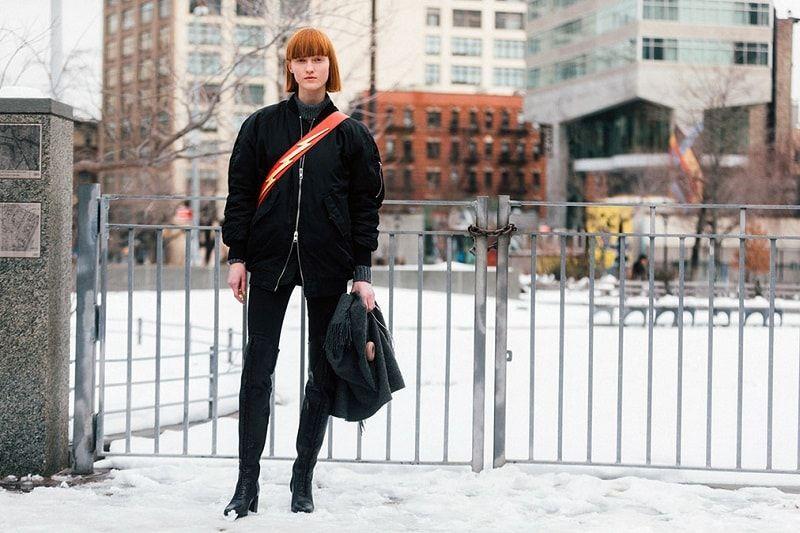Ina Maribo Jensen NYFW Fall 2017 Street Style - Melodie Jeng • Minimal. / Visual. • Fashion Photography, Street Style