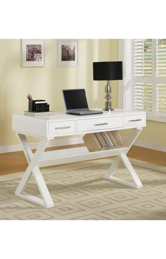 Coaster Company Desks Contemporary Writing Desk With Shelf