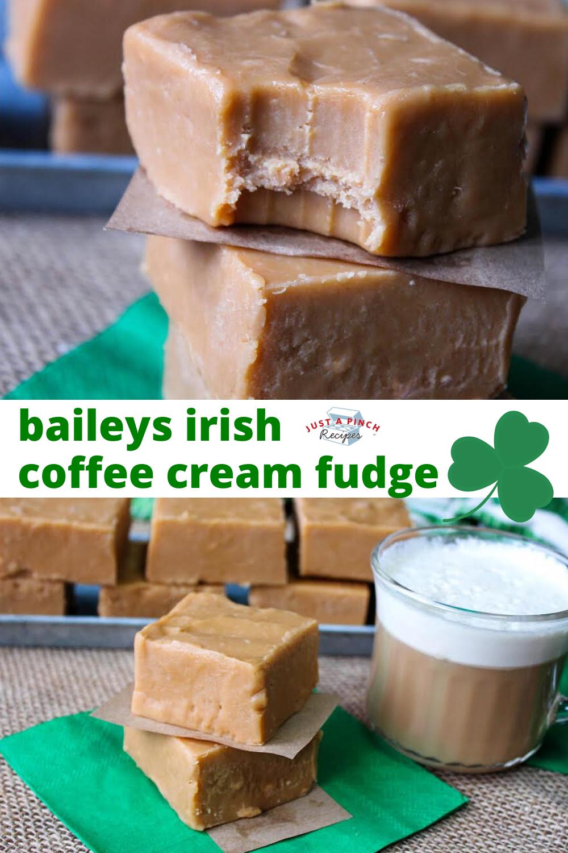 Baileys Irish Coffee Cream Fudge Recipe in 2020 Cream
