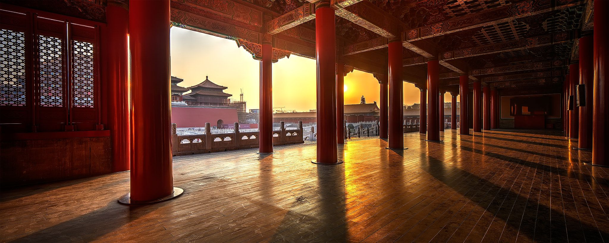 Forbidden City 2 Sunset Time Inside The Forbidden City In Beijing China With Images Forbidden City City Summer Palace
