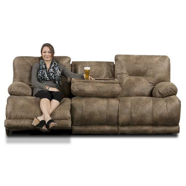 Triple Recliner Sofa From Jackson Furniture Rustic Brown Faux