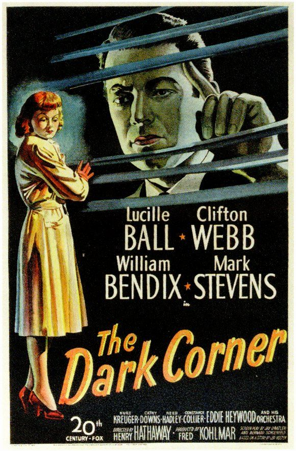 The Dark Corner Movie Poster The Dark Corner Movie Poster 1946