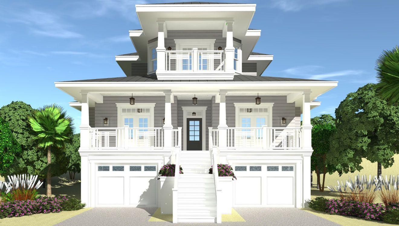 Anchor Watch Coastal Home Plans Coastal House Plans Beach House Flooring Beach House Exterior