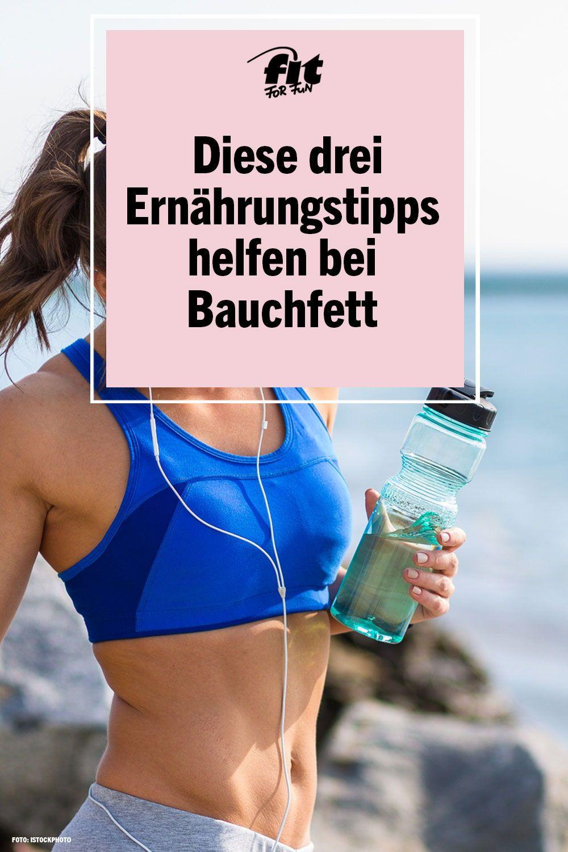 Abnehmen 3 Ernahrungstipps Die Bei Bauchfett Helfen Fit For Fun Bauch Weg Gewichtsverlust Herausforderung Bauchfett Loswerden