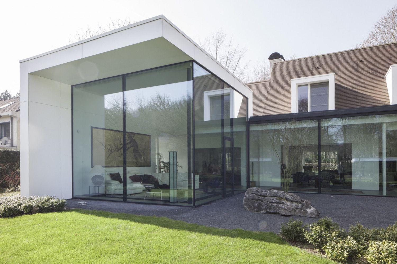 Villa ha vi p ed architecten ideeën voor het huis