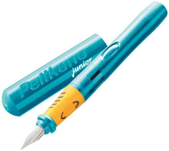 Pelikano Junior Fountain Pen Right Handed Turquoise;