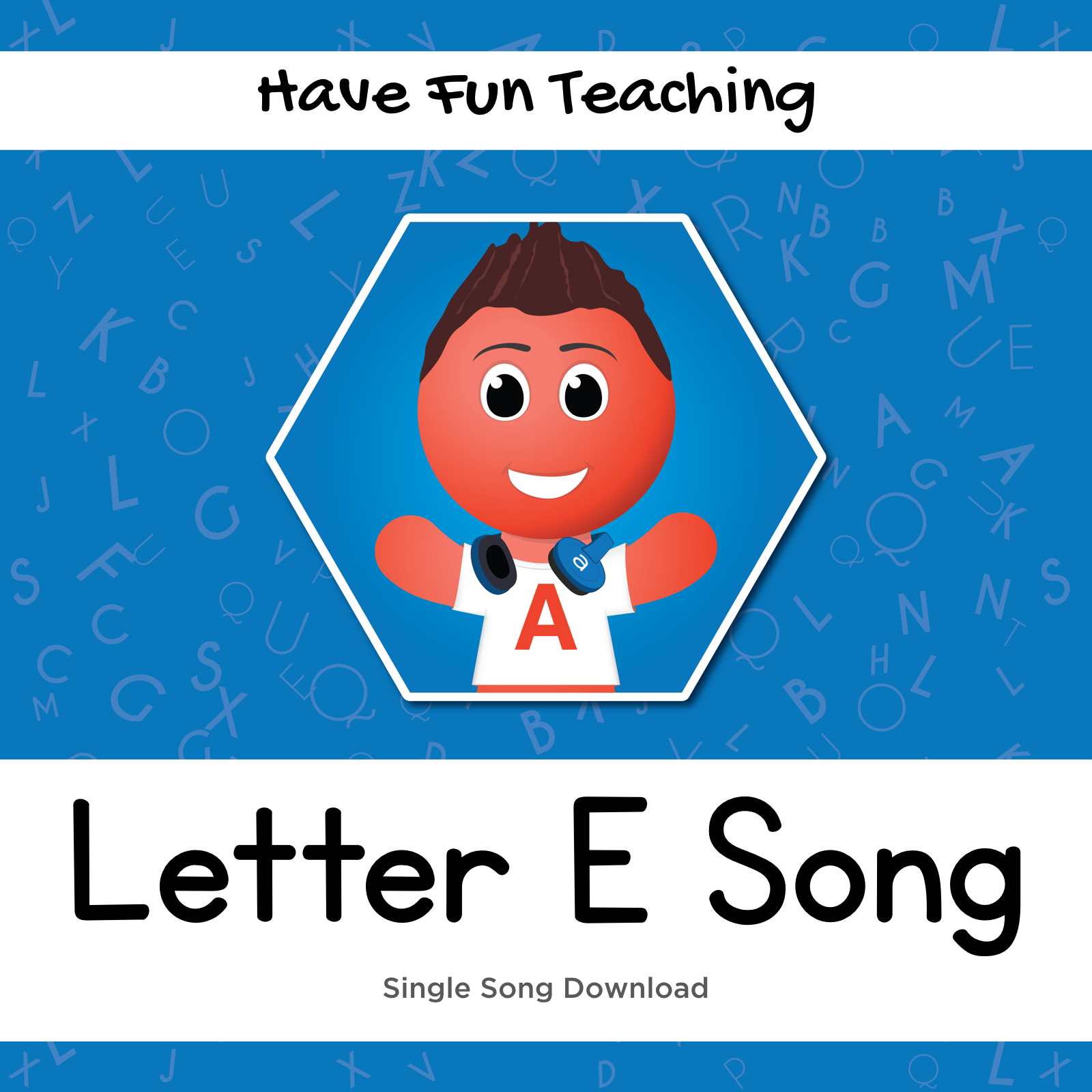 Letter E Song (Animated Music Video)