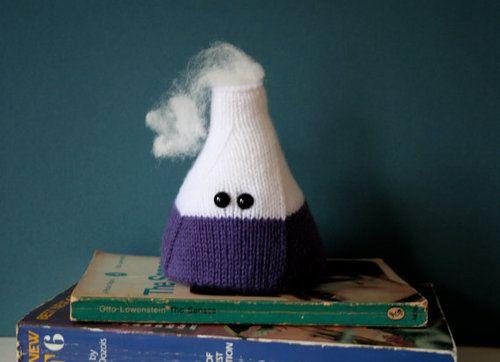 Set De Química Tejido A Crochet Amigurumi Matraz Tubo Ensayo ... | 362x500