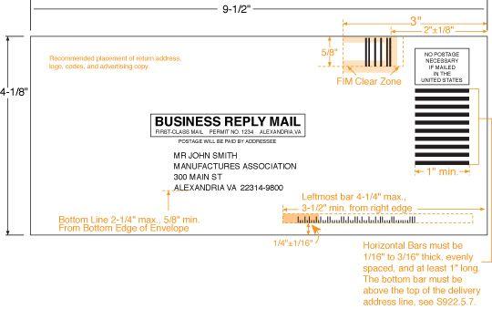 Image22 Envelope Template Business Envelopes Addressing