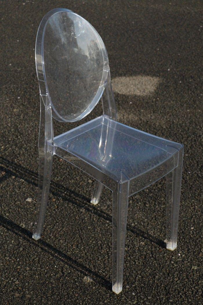 Kartell Philippe Starck Chaise Victoria Ghost Plastique Design
