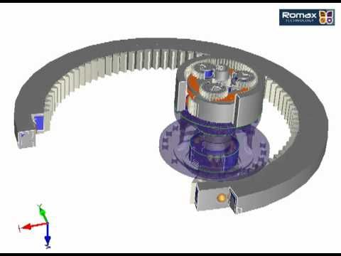 Hydraulic motors for excavator swing drive by Poclain Hydraulics