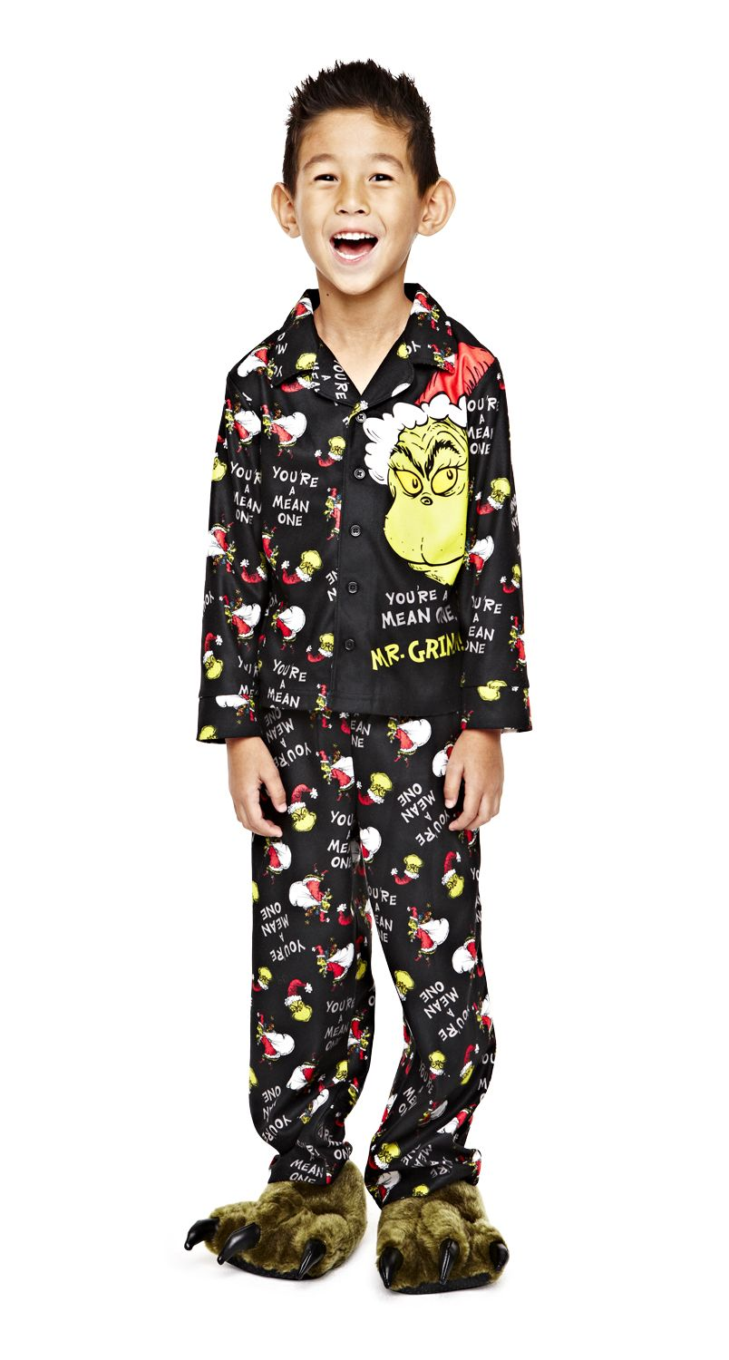 400a3cd81 okie dokie grinch pajamas