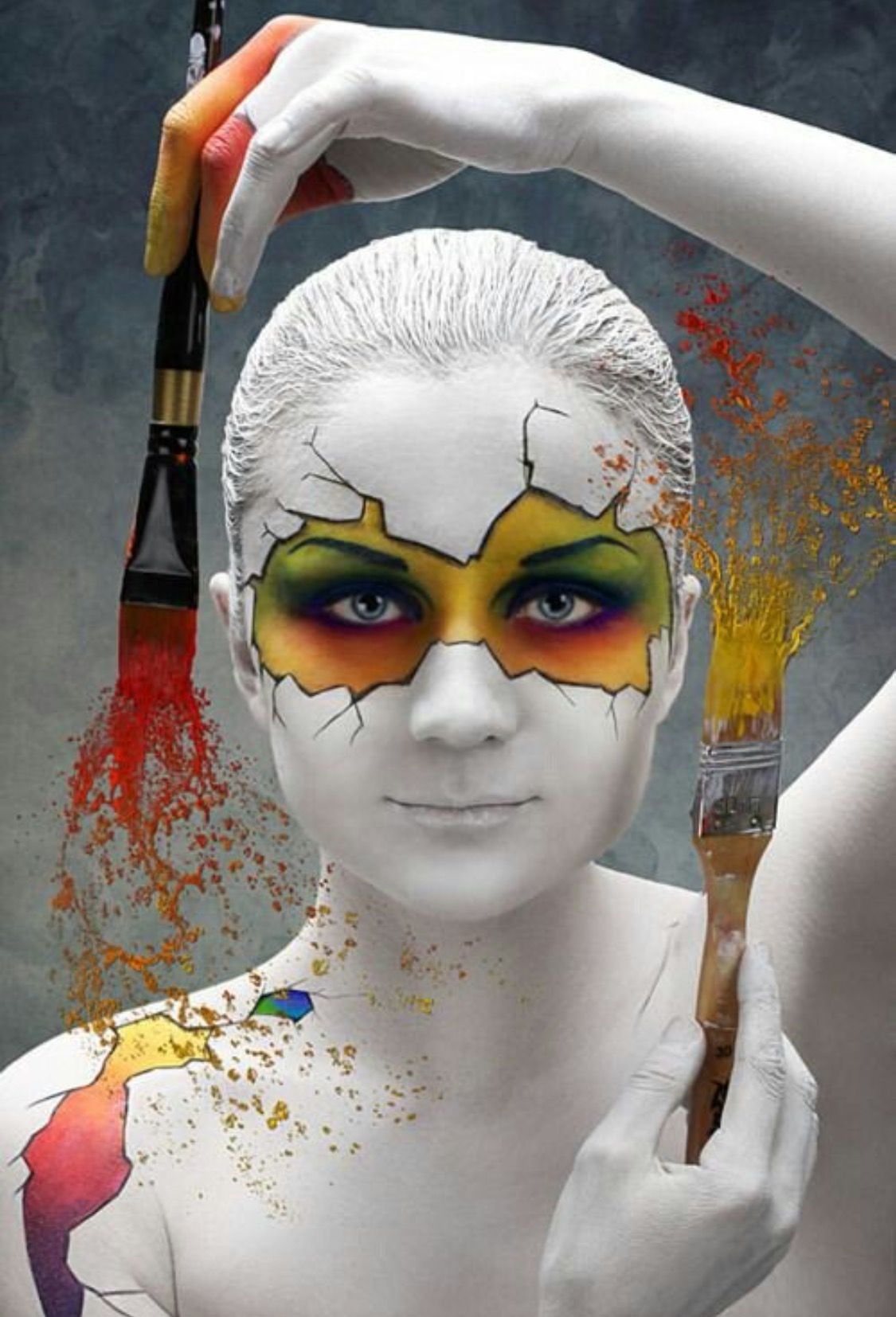 Rxskincenter Beauty Bodyart Mehron Cinemasecrets Graftobian Glomineral Cosmetics Drag Dragqueen Body Art Painting Face Art Body Painting