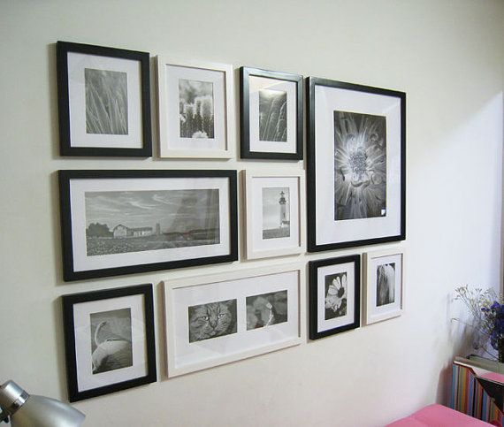 Photo Picture Frame Set Modern 10 Frame Wall Collage Picture Frame Wall Wall Collage