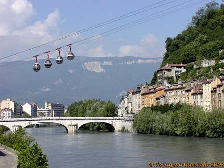 Grenoble (France). Visited a friend there.