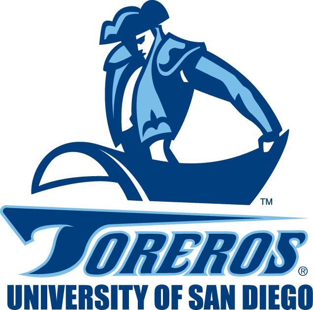 San Diego Toreros Primary Logo University Of San Diego San Diego San