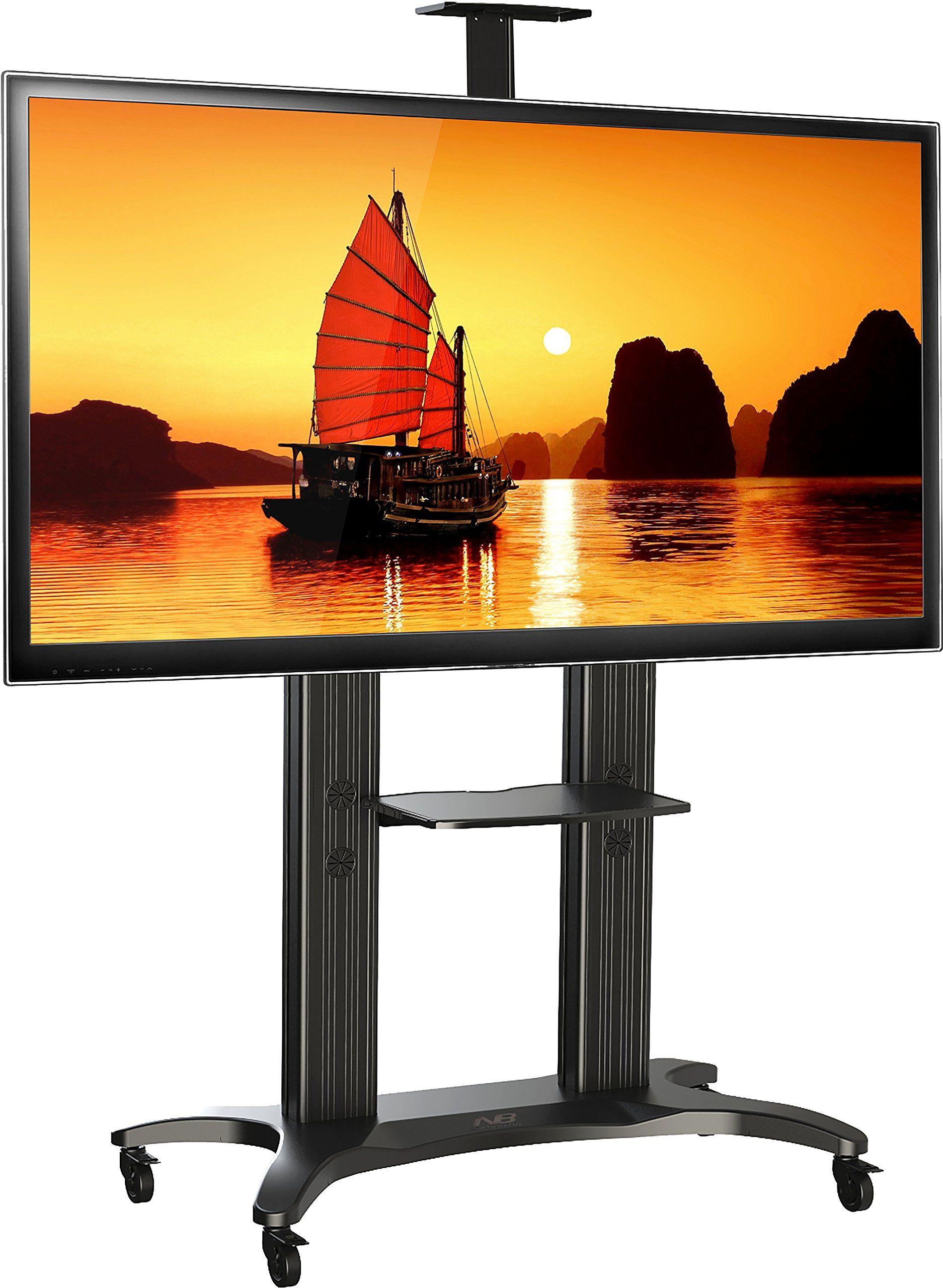 North Bayou Tv Stand For Flat Screens 55 80 Inch Lcd Led Oled Plasma