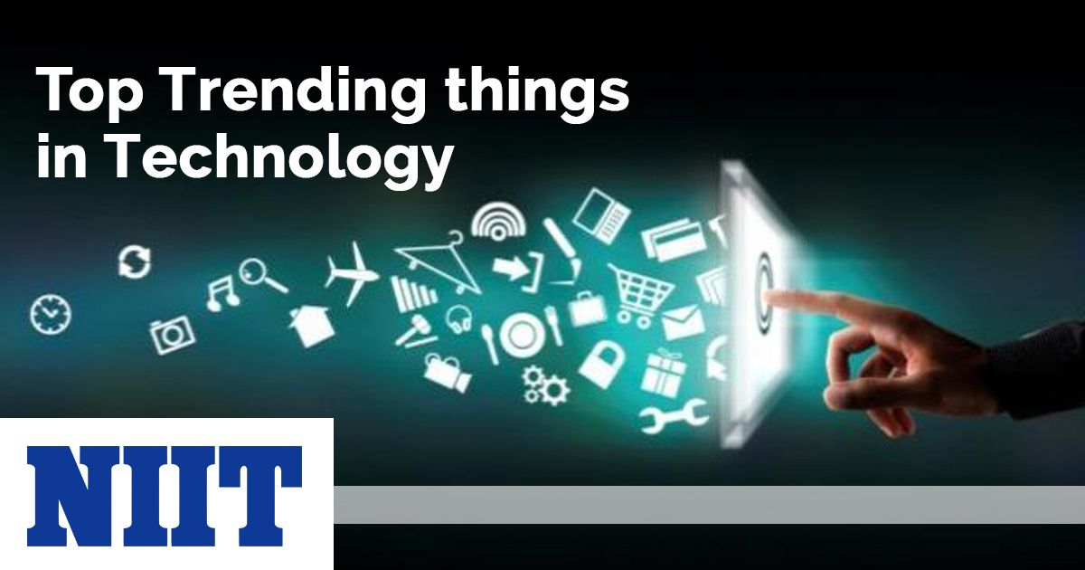 The Top 5 Trending Technologies In 2018 Today S World Is The Technological World Every Day The New Technologies C Technology Trends Technology New Technology