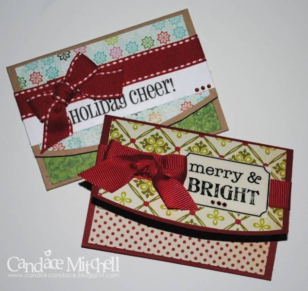 Christmas Gift Card Holders by candylou - Cards and Paper Crafts at Splitcoaststampers -  Christmas Gift Card Holders by candylou – Cards and Paper Crafts at Splitcoaststampers  - #candylou #Card #cards #christmas #crafts #Gift #giftcarddiy #holders #makeuptutorialforbeginners #makeuptutorialvideo #paper #splitcoaststampers