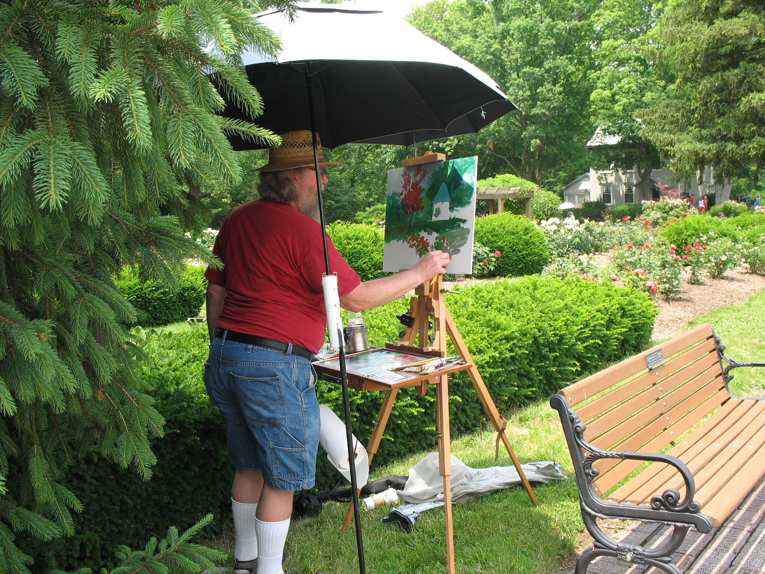 June 23,2014 Secret Garden tour Richmond Indiana Garden