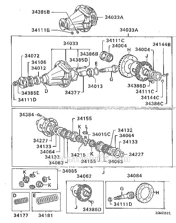 Image result for 1999 MITSUBISHI pajero rear diff lock diagram | PAJERO TECHNICAL | Mitsubishi