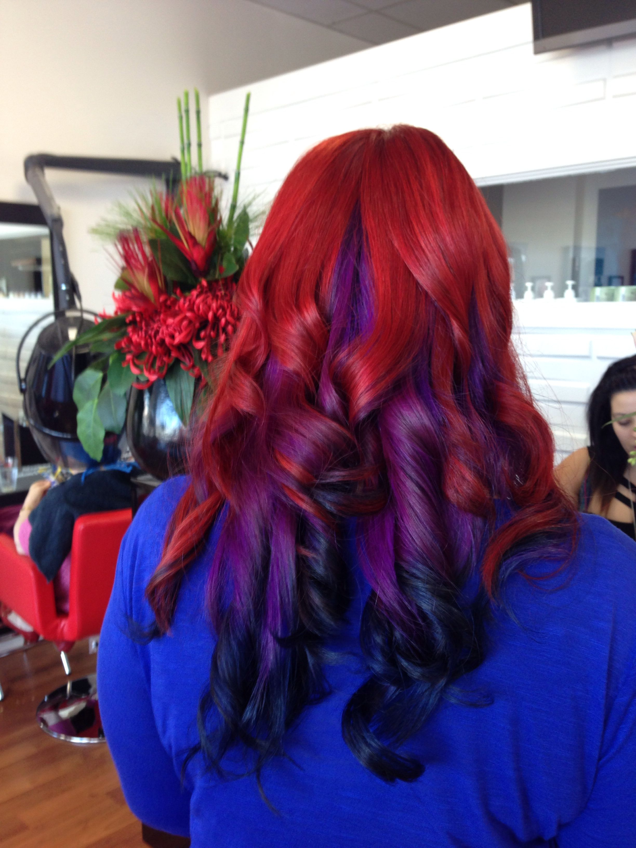 To acquire Hairstyles and red Blue pictures trends