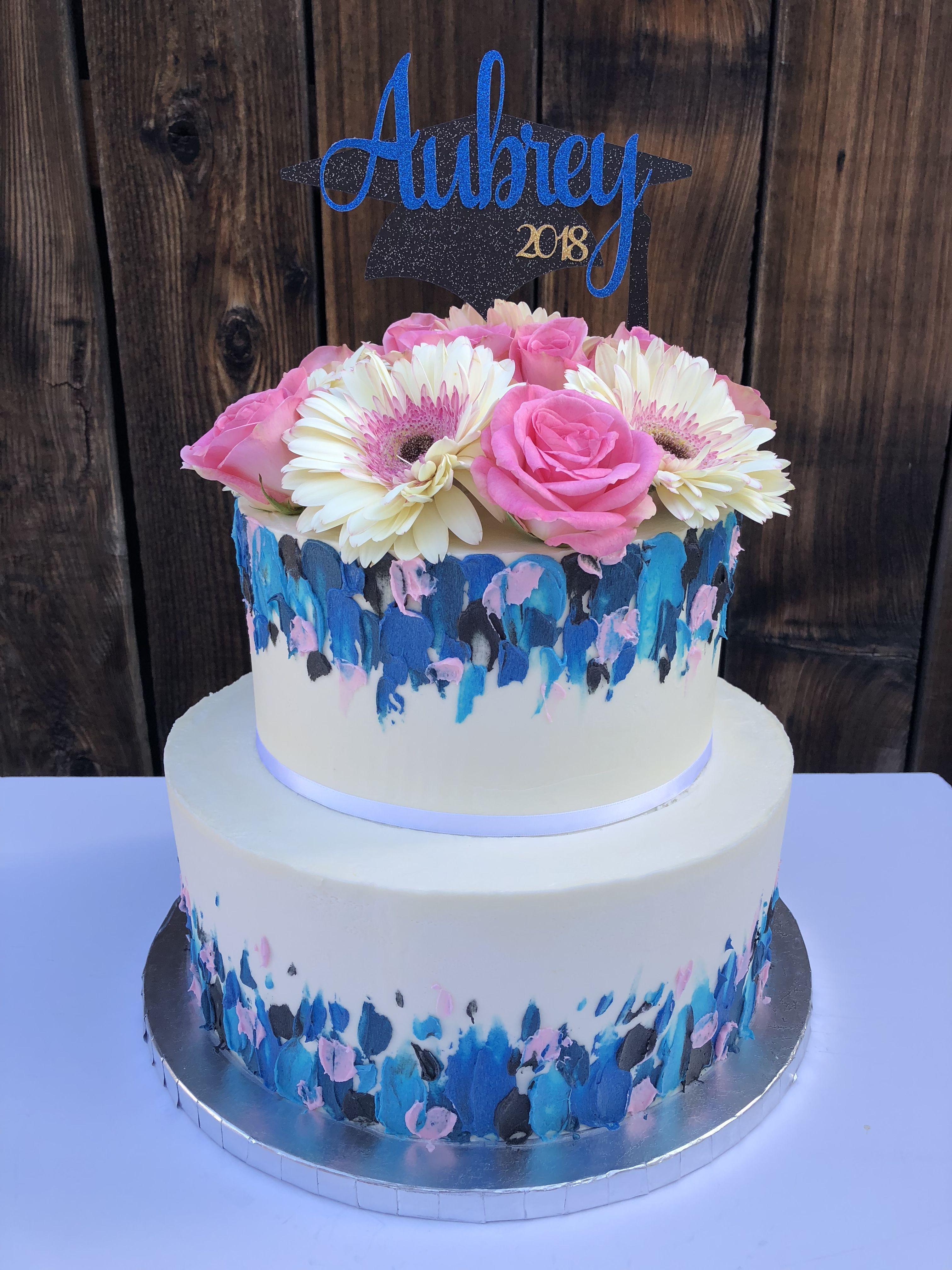 Buttercream graduation cake | Graduation cakes, Cake, Cake ...