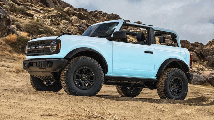 the 2021 ford bronco in vintage bronco paint colors and on new paint color for 2021 id=14590