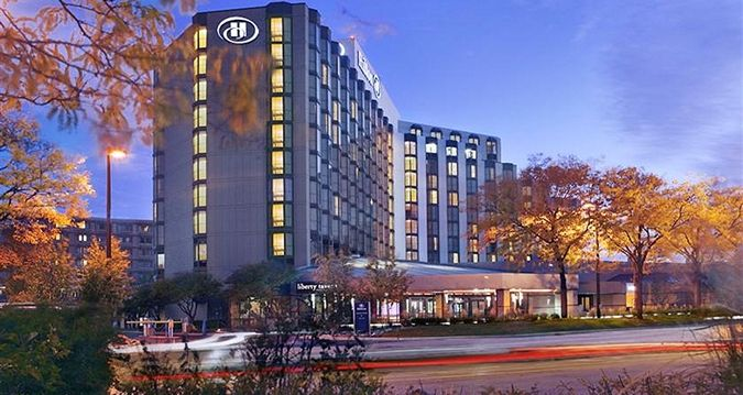 Hilton Rosemont Chicago O Hare Ferry Building San Francisco Hotel Exterior Hilton