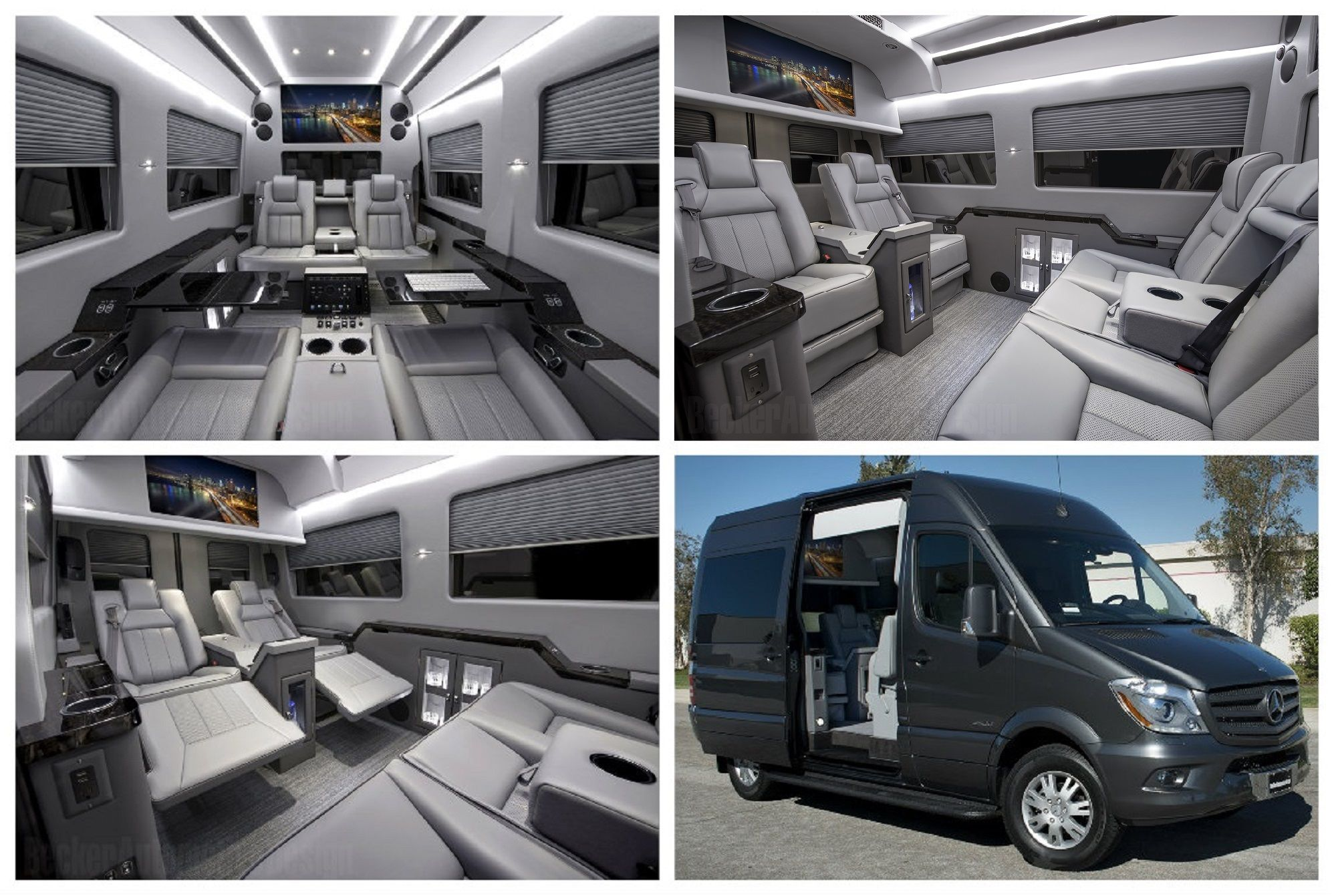 The finest luxury handcrafted mercedesbenz sprinter jetvan