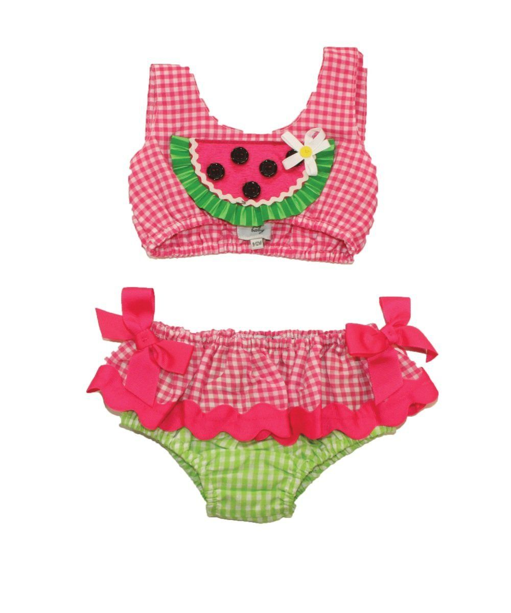 49a0aeace8f56 Watermelon bathing suit. | DARLiiNG TODDlER ClOTHES! | Baby girl ...