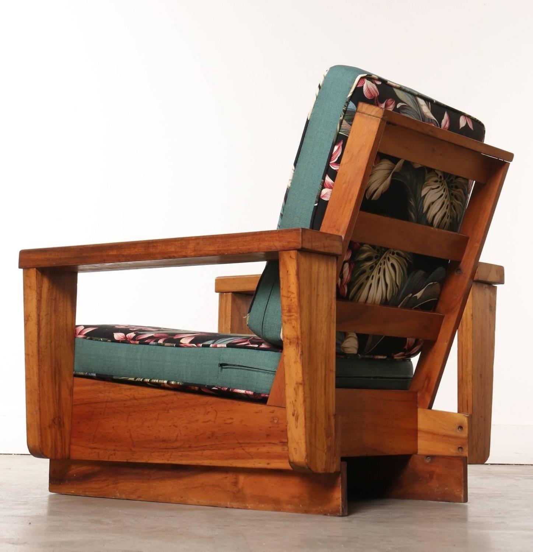 Modern Furniture Hawaii pair of 1940s hawaiian koa wood club chair | woods, modern and mid