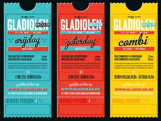 Amazing Ticket Design {love The Multiple Typefaces, Layout U0026 Colors} //  Lode Bellens  How To Make A Concert Ticket