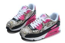 cute PINK Nike Air Max 90 Floral Height Increasing 5.5-8.5 US WOMEN SNEAKERS  - Boltr