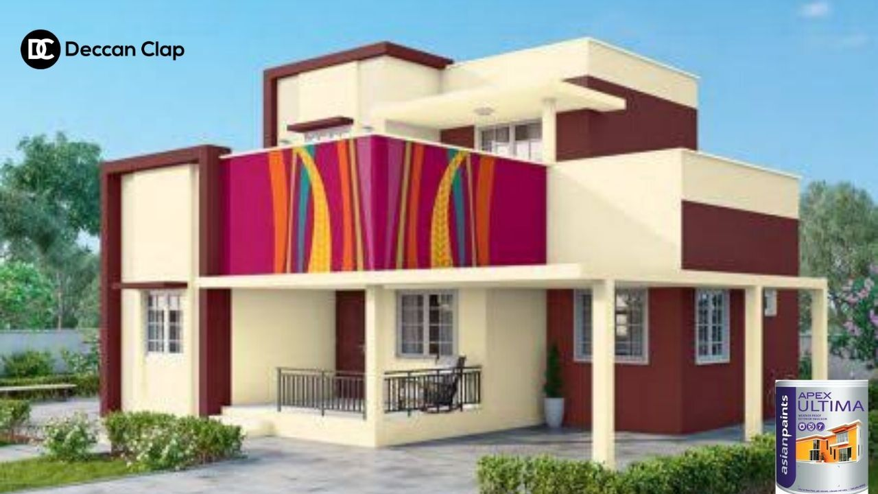 Asian Paints House Painters And Painting Services In Hyderabad In 2020 House Designs Exterior Modern House Colors House Colors