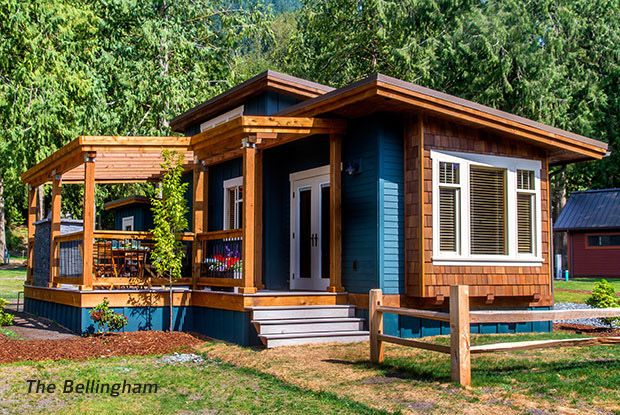 What A Lovely Tiny House In The Woods Wildwood Cottage 6